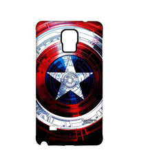 Avengers Captain America Assemble Captains Shield Decoded Sublime Case for Samsung Note 4