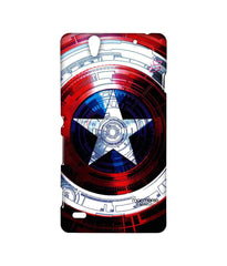 Avengers Captain America Assemble Captains Shield Decoded Sublime Case for Sony Xperia C4