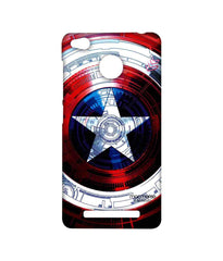 Avengers Captain America Assemble Captains Shield Decoded Sublime Case for Xiaomi Redmi 3S Prime