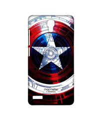 Avengers Captain America Assemble Captains Shield Decoded Sublime Case for Xiaomi Redmi Note Prime