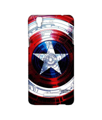 Avengers Captain America Assemble Captains Shield Decoded Sublime Case for YU Yureka Plus