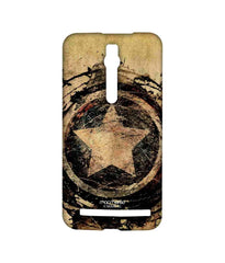 Avengers Captain America Assemble Symbolic Captain Shield Sublime Case for Asus Zenfone 2