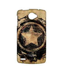 Avengers Captain America Assemble Symbolic Captain Shield Sublime Case for Lenovo S920