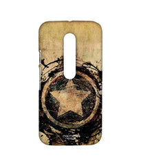 Avengers Captain America Assemble Symbolic Captain Shield Sublime Case for Moto G Turbo