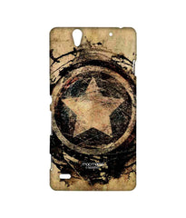 Avengers Captain America Assemble Symbolic Captain Shield Sublime Case for Sony Xperia C4