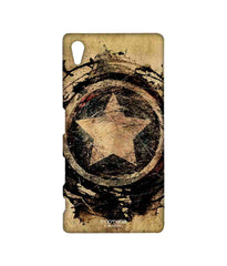 Avengers Captain America Assemble Symbolic Captain Shield Sublime Case for Sony Xperia Z5