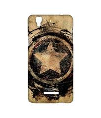 Avengers Captain America Assemble Symbolic Captain Shield Sublime Case for YU Yureka Plus