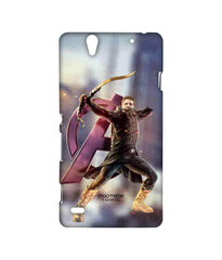 Avengers Hawkeye Age of Ultron Super Hawk Sublime Case for Sony Xperia C4