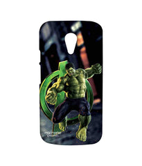 Avengers Hulk Age of Ultron Super Doctor Sublime Case for Moto G2