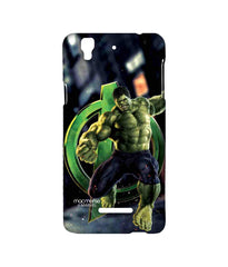 Avengers Hulk Age of Ultron Super Doctor Sublime Case for YU Yureka Plus