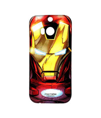 Avengers Ironman Assemble Stark Face Sublime Case for HTC One M8