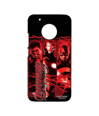 Avengers Ironman Hulk and Captain America Age of Ultron Age of Ultron Sublime Case for Moto G5 Plus