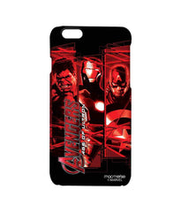 Avengers Ironman Hulk and Captain America Age of Ultron Pro Case for iPhone 6S