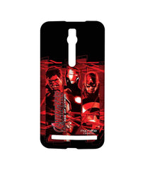 Avengers Ironman Hulk and Captain America Age of Ultron Sublime Case for Asus Zenfone 2