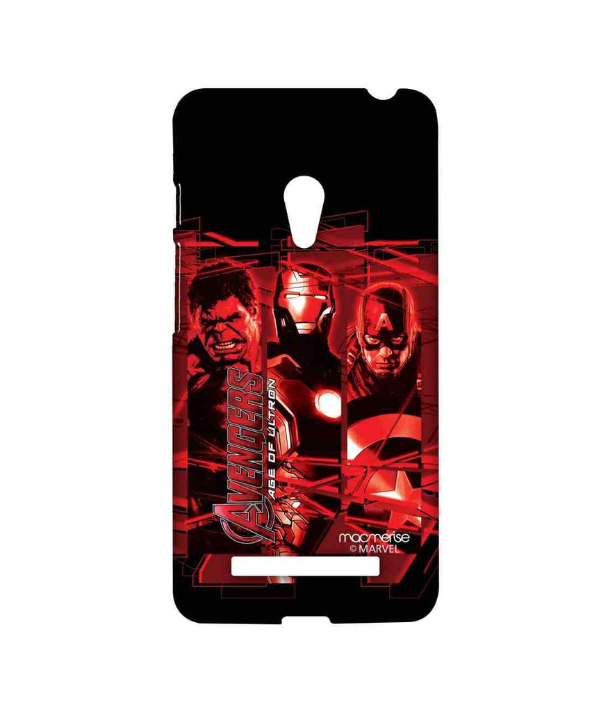 Avengers Ironman Hulk and Captain America Age of Ultron Sublime Case for Asus Zenfone 5