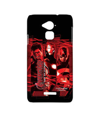 Avengers Ironman Hulk and Captain America Age of Ultron Sublime Case for Coolpad Note 3