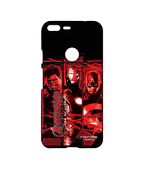 Avengers Ironman Hulk and Captain America Age of Ultron Sublime Case for Google Pixel