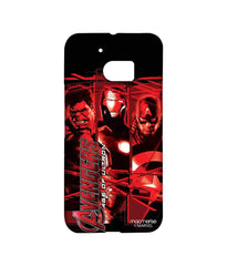 Avengers Ironman Hulk and Captain America Age of Ultron Sublime Case for HTC 10