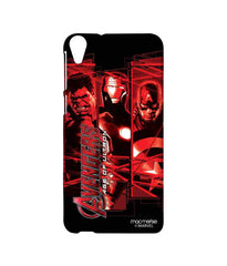Avengers Ironman Hulk and Captain America Age of Ultron Sublime Case for HTC Desire 820