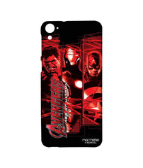 Avengers Ironman Hulk and Captain America Age of Ultron Sublime Case for HTC Desire 826