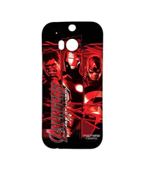 Avengers Ironman Hulk and Captain America Age of Ultron Sublime Case for HTC One M8