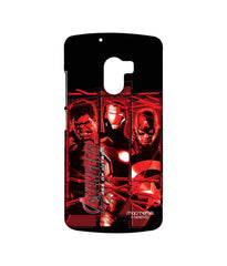 Avengers Ironman Hulk and Captain America Age of Ultron Sublime Case for Lenovo K4 Note