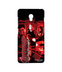 Avengers Ironman Hulk and Captain America Age of Ultron Sublime Case for Lenovo Vibe P1