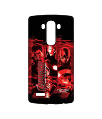 Avengers Ironman Hulk and Captain America Age of Ultron Sublime Case for LG G4