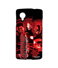 Avengers Ironman Hulk and Captain America Age of Ultron Sublime Case for LG Nexus 5