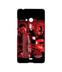 Avengers Ironman Hulk and Captain America Age of Ultron Sublime Case for Microsoft Lumia 540