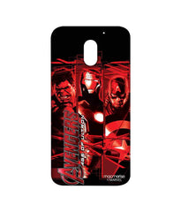 Avengers Ironman Hulk and Captain America Age of Ultron Sublime Case for Moto E3 Power