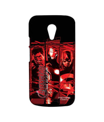 Avengers Ironman Hulk and Captain America Age of Ultron Sublime Case for Moto G2