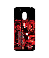 Avengers Ironman Hulk and Captain America Age of Ultron Sublime Case for Moto G4 Play