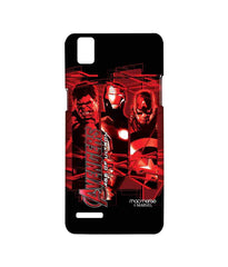 Avengers Ironman Hulk and Captain America Age of Ultron Sublime Case for Oppo F1
