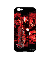 Avengers Ironman Hulk and Captain America Age of Ultron Sublime Case for Oppo F1s