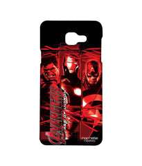Avengers Ironman Hulk and Captain America Age of Ultron Sublime Case for Samsung A5 (2016)
