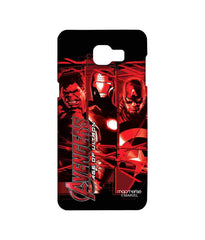 Avengers Ironman Hulk and Captain America Age of Ultron Sublime Case for Samsung A9 Pro