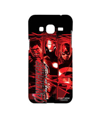 Avengers Ironman Hulk and Captain America Age of Ultron Sublime Case for Samsung J3 (2016)