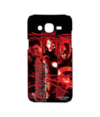Avengers Ironman Hulk and Captain America Age of Ultron Sublime Case for Samsung J5