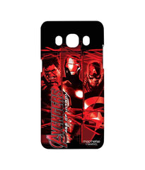 Avengers Ironman Hulk and Captain America Age of Ultron Sublime Case for Samsung J5 (2016)