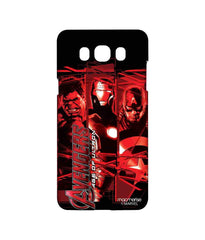 Avengers Ironman Hulk and Captain America Age of Ultron Sublime Case for Samsung J7 (2016)