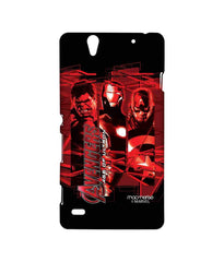 Avengers Ironman Hulk and Captain America Age of Ultron Sublime Case for Sony Xperia C4