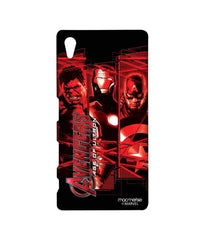 Avengers Ironman Hulk and Captain America Age of Ultron Sublime Case for Sony Xperia Z5