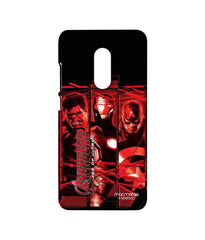 Avengers Ironman Hulk and Captain America Age of Ultron Sublime Case for Xiaomi Redmi Note 4
