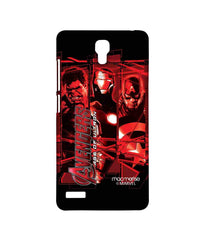 Avengers Ironman Hulk and Captain America Age of Ultron Sublime Case for Xiaomi Redmi Note Prime