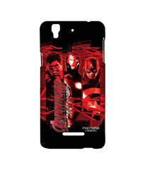 Avengers Ironman Hulk and Captain America Age of Ultron Sublime Case for YU Yureka Plus
