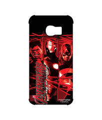 Avengers Ironman Hulk and Captain America Assemble Age of Ultron Pro Case for Samsung S6 Edge