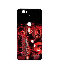 Avengers Ironman Hulk and Captain America Assemble Age of Ultron Sublime Case for Huawei Nexus 6P