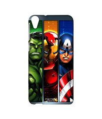 Avengers Ironman Hulk and Captain America Assemble Avengers Angst Sublime Case for HTC Desire 820