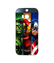 Avengers Ironman Hulk and Captain America Assemble Avengers Angst Sublime Case for HTC One M8